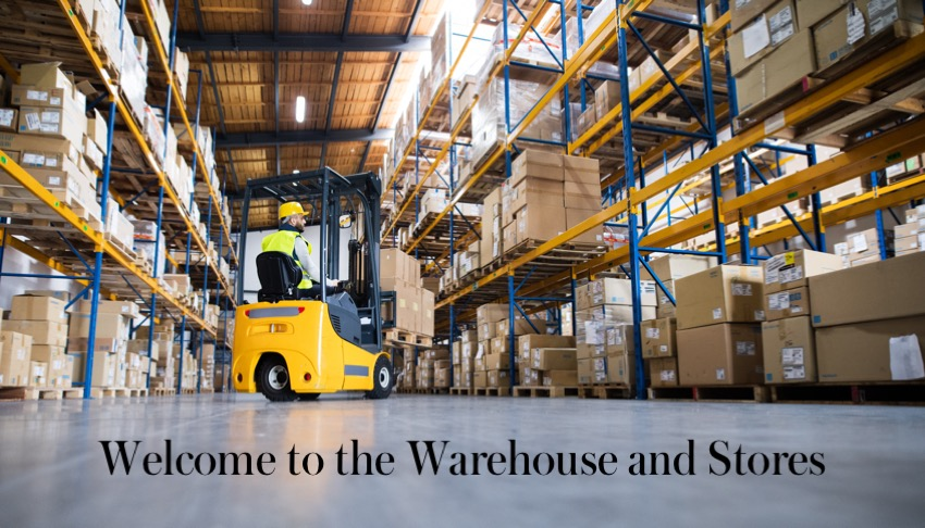 Welcome to the Warehouse and Stores